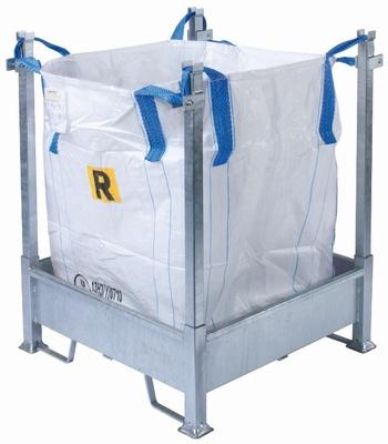 Stl001bbgv telaio porta big bag zincato smontabile sepa for Telaio porta